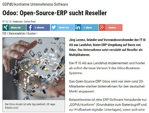 Odoo Open-Source-ERP